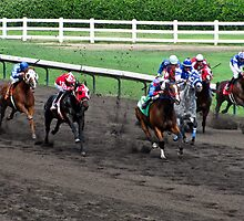 At The Horse Races by Spiiral