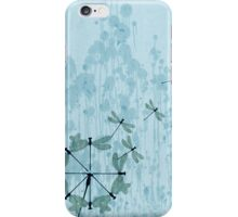 Dandelion and Dragonfly Painting iPhone Case/Skin