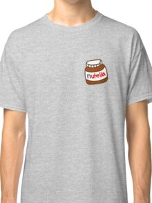 Cute Tumblr Nutella Pattern Classic T-Shirt