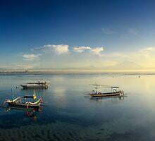 Sunrise at Sanur Beach by I Nengah  Januartha