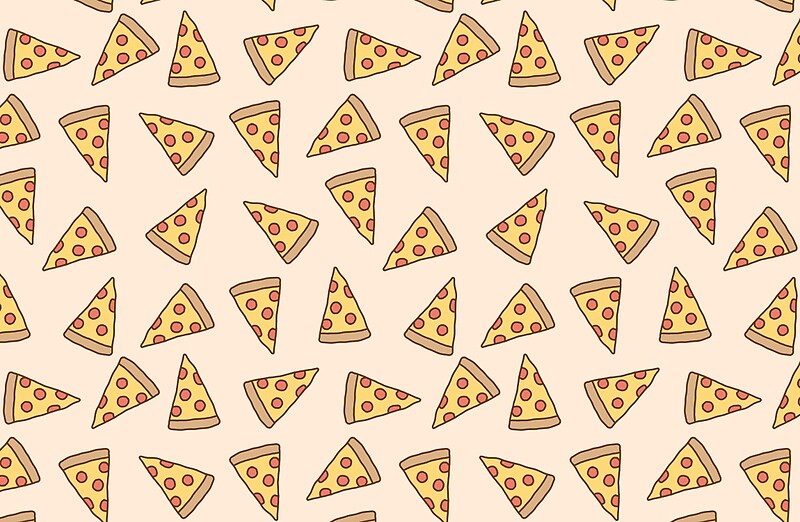Quot Cute Tumblr Pizza Pattern Quot Laptop Skins By Deathspell