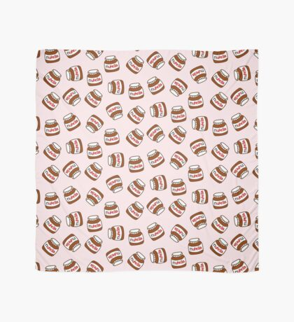 Cute Tumblr Nutella Pattern Scarf