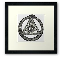 Occult Symbolism by Pierre Blanchard Framed Print