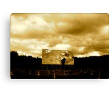 The Last Drive-In Canvas Print