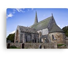 Borthwick Parish Church Canvas Print
