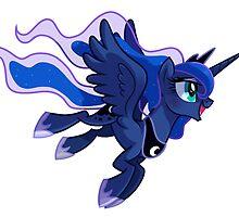 Princess Luna w/o Background by Wickle