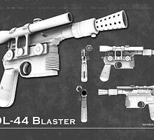 DL 44 Blaster Poster by matbuk