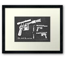 DL 44 Blaster Poster Framed Print