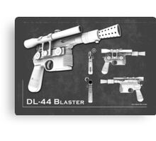 DL 44 Blaster Poster Canvas Print