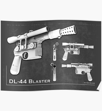 DL 44 Blaster Poster Poster