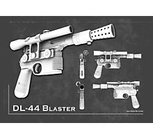 DL 44 Blaster Poster Photographic Print