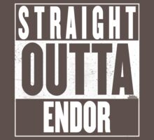 STRAIGHT OUTTA ENDOR Kids Clothes