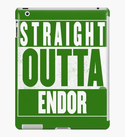 STRAIGHT OUTTA ENDOR iPad Case/Skin
