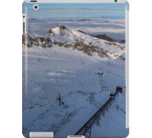 Winter on Kitzsteinhorn 3 iPad Case/Skin