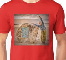 Yoga By The Sea Unisex T-Shirt