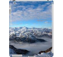 Winter on Kitzsteinhorn 5 iPad Case/Skin