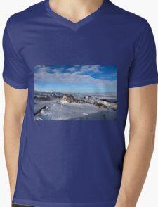 Winter on Kitzsteinhorn 7 Mens V-Neck T-Shirt