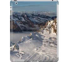 Winter on Kitzsteinhorn 8 iPad Case/Skin