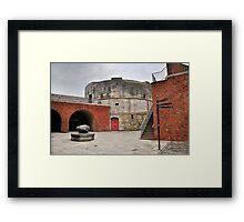 Round Tower Portsmouth Framed Print