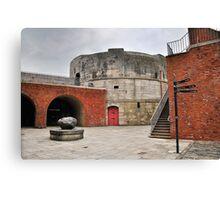 Round Tower Portsmouth Canvas Print
