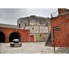 Round Tower Portsmouth Photographic Print