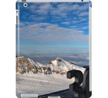 Winter on Kitzsteinhorn 10 iPad Case/Skin