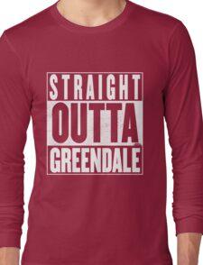 STRAIGHT OUTTA GREENDALE Long Sleeve T-Shirt