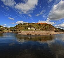 Berriedale, Caithness, Scotland by Martina Cross