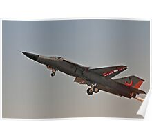 F111, slow pass. Poster
