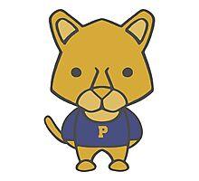 Panther Mascot Chibi Cartoon Photographic Print