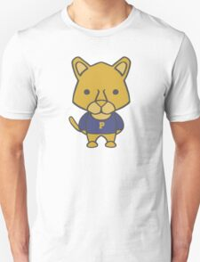 Panther Mascot Chibi Cartoon Unisex T-Shirt