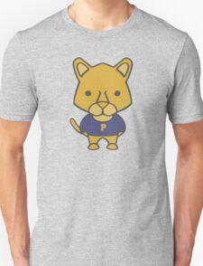 Panther Mascot Chibi Cartoon Unisex T-Shirt