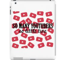 So Many Youtubers iPad Case/Skin