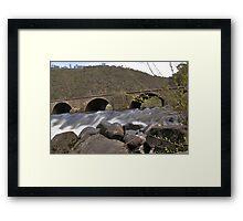 Arches @ The Gorge Launceston Framed Print