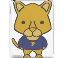 Panther Mascot Chibi Cartoon iPad Case/Skin