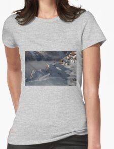 Winter on Kitzsteinhorn 13 Womens Fitted T-Shirt
