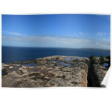 Point Perpendicular Lookout Poster