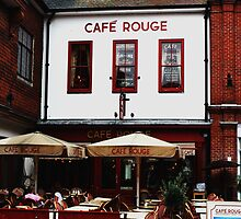 Cafe Rouge - Canterbury, Kent, UK by Deb Gibbons