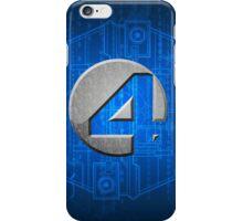Fantastic Four Logo  iPhone Case/Skin
