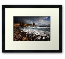 Keiss Castle, Caithness, Scotland Framed Print