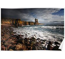 Keiss Castle, Caithness, Scotland Poster