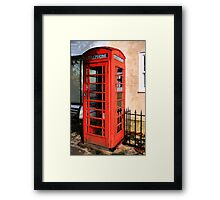 Red Phone Box Framed Print