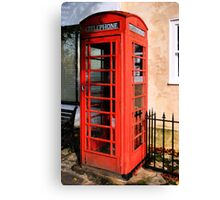 Red Phone Box Canvas Print