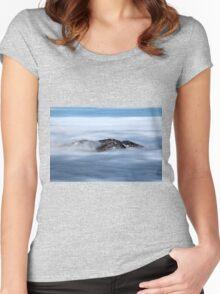 Winter on Kitzsteinhorn 16 Women's Fitted Scoop T-Shirt