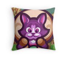 Neko Cat SOM Throw Pillow