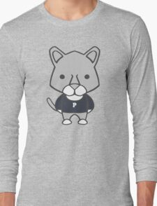 Lion Mascot Chibi Cartoon Long Sleeve T-Shirt