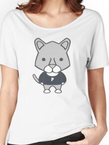 Lion Mascot Chibi Cartoon Women's Relaxed Fit T-Shirt