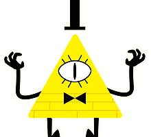 Bill Cipher  by TheBeardedPen