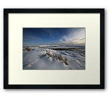 River Thurso in Winter, Caithness, Scotland Framed Print