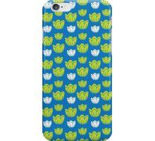 Tulips-blue iPhone Case/Skin